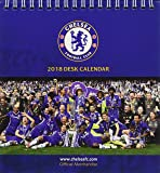 Chelsea F.C. Official Desk Easel 2018 Calendar - Month To View Desk Format (Desk Easel Calendar 2018)