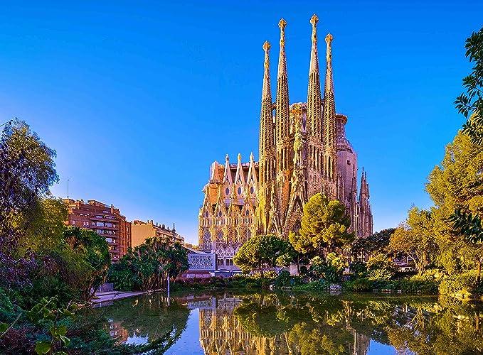 Rompecabezas para adultos La Sagrada Família Iglesia Antoni Gaudí ...