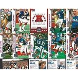1993 Pro Set Super Bowl XXVII Buffalo Bills Team Set of Football Trading Cards (CT-19) - Includes Head Coach Marv Levy…