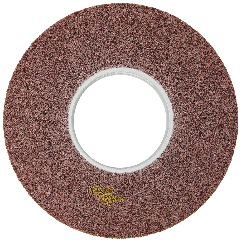 Scotch-Brite 12 Diameter x 2 Width 5 Arbor Pack of 1 5A Medium Grit Aluminum Oxide 3000 rpm TM Metal Finishing Wheel
