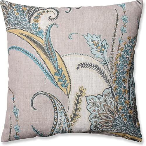 Pillow Perfect Rimby Dune Throw Pillow, 18-Inch,Off-white