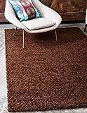 Unique Loom 3126289 Area Rug, 5' x 8', Chocolate