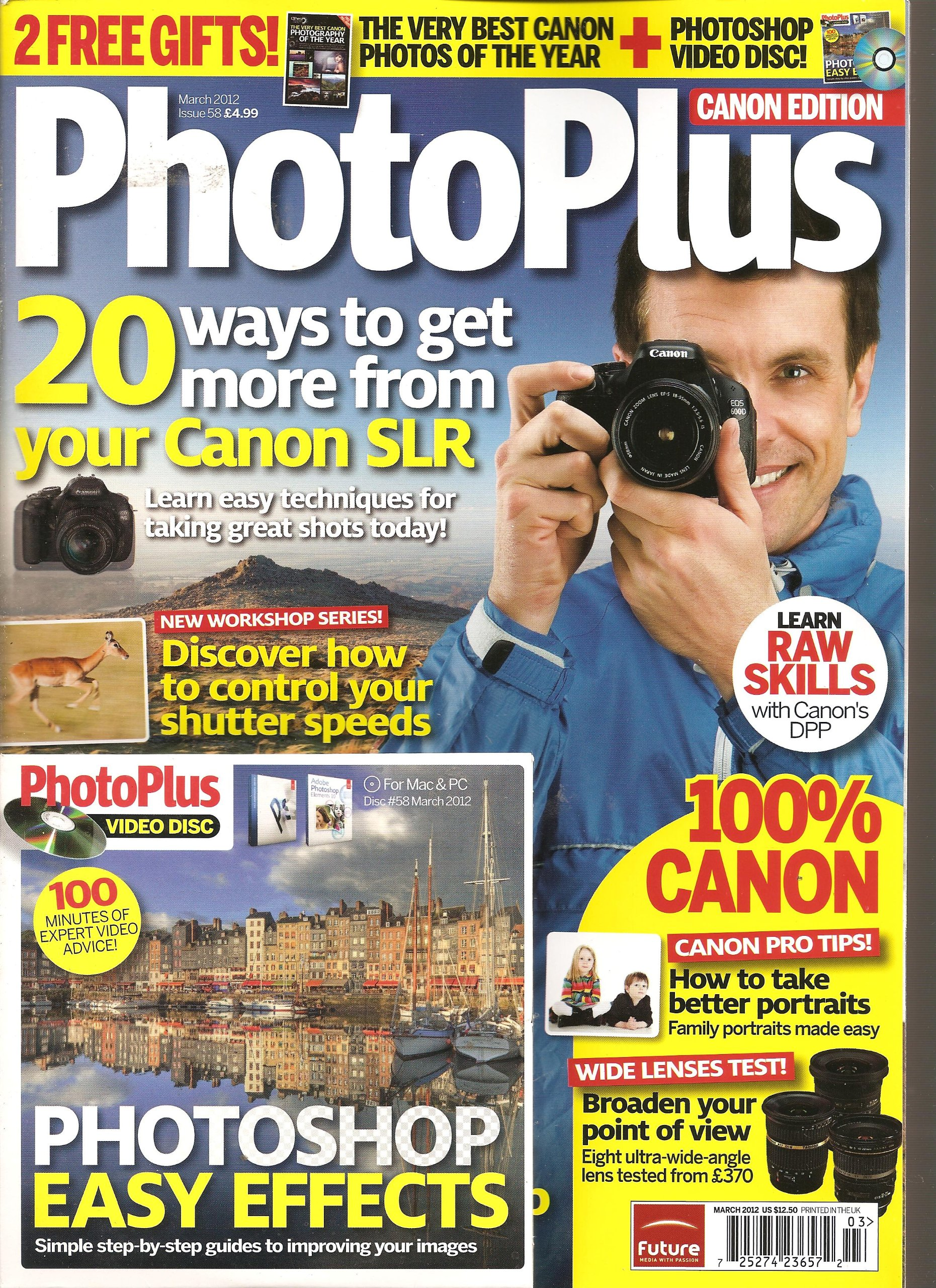 Download Photo Plus Magazine (March 2012) PDF