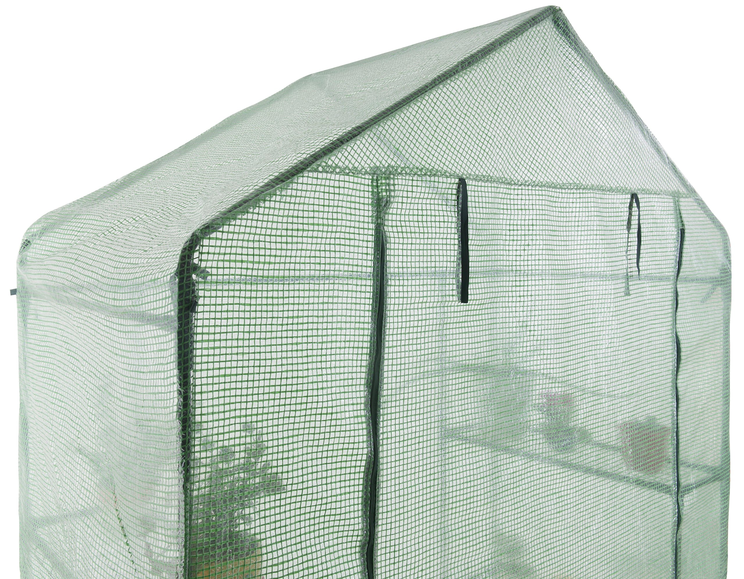 GOJOOASIS Walk in Portable Garden Greenhouse Mini Plants Shed Hot House with 3 Tiers by GOJOOASIS (Image #7)