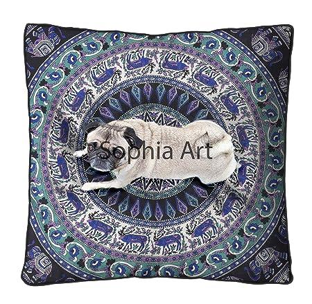 Sophia Art Funda de cojín Grande para el Suelo, Gran tamaño ...