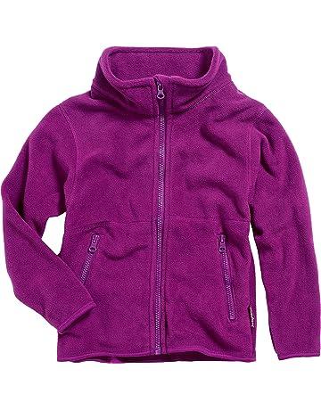 dafaa4800bfdb8 Playshoes Kids Warm Fleece Zipper, Long Sleeve Jacket Giacca Bambine e  Ragazze
