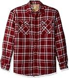 Wrangler Men's Authentics Long Sleeve Sherpa Lined Flannel Shirt