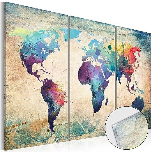 91 opinioni per murando Novitá! Moderno Quadro su acrilico vetro 120x80 cm – 3 Parti- 2 formati