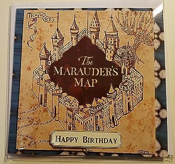 Geburtstag karte harry potter