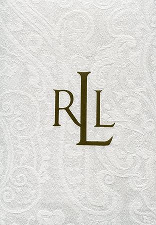 Ralph Lauren Paisley White Tablecloth 70u0026quot; X 120u0026quot; Oblong And  Rectangular