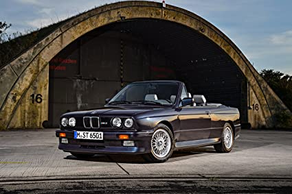 Amazon Com Bmw M3 E30 Cabrio 1988 1991 Car Print On 10 Mil