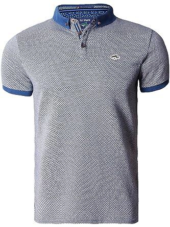Le Shark Hombres Polo Camiseta Ojo de Pájaro Piqué Diseñador ...