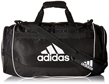 9f666567a6e6 Amazon.com  adidas Unisex Defense Medium Duffel Black One Size  Clothing