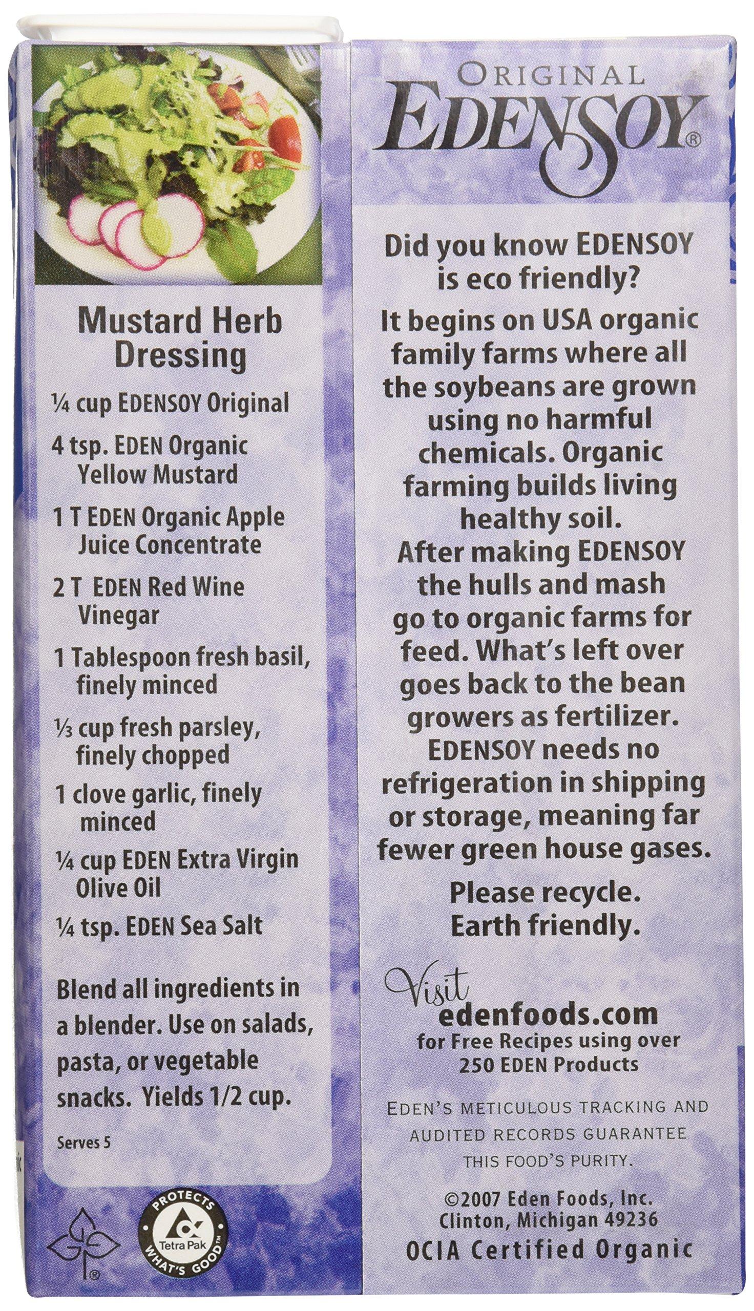 Eden Foods, Soy Milk Original Organic, 32 Fl Oz by Eden (Image #5)