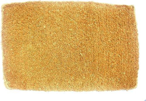 Imports D cor Plain Coir Doormat, 24 by 39-Inch