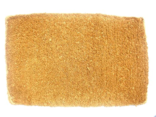 amazoncom imports dcor plain coir doormat 14 by 24inch patio lawn u0026 garden
