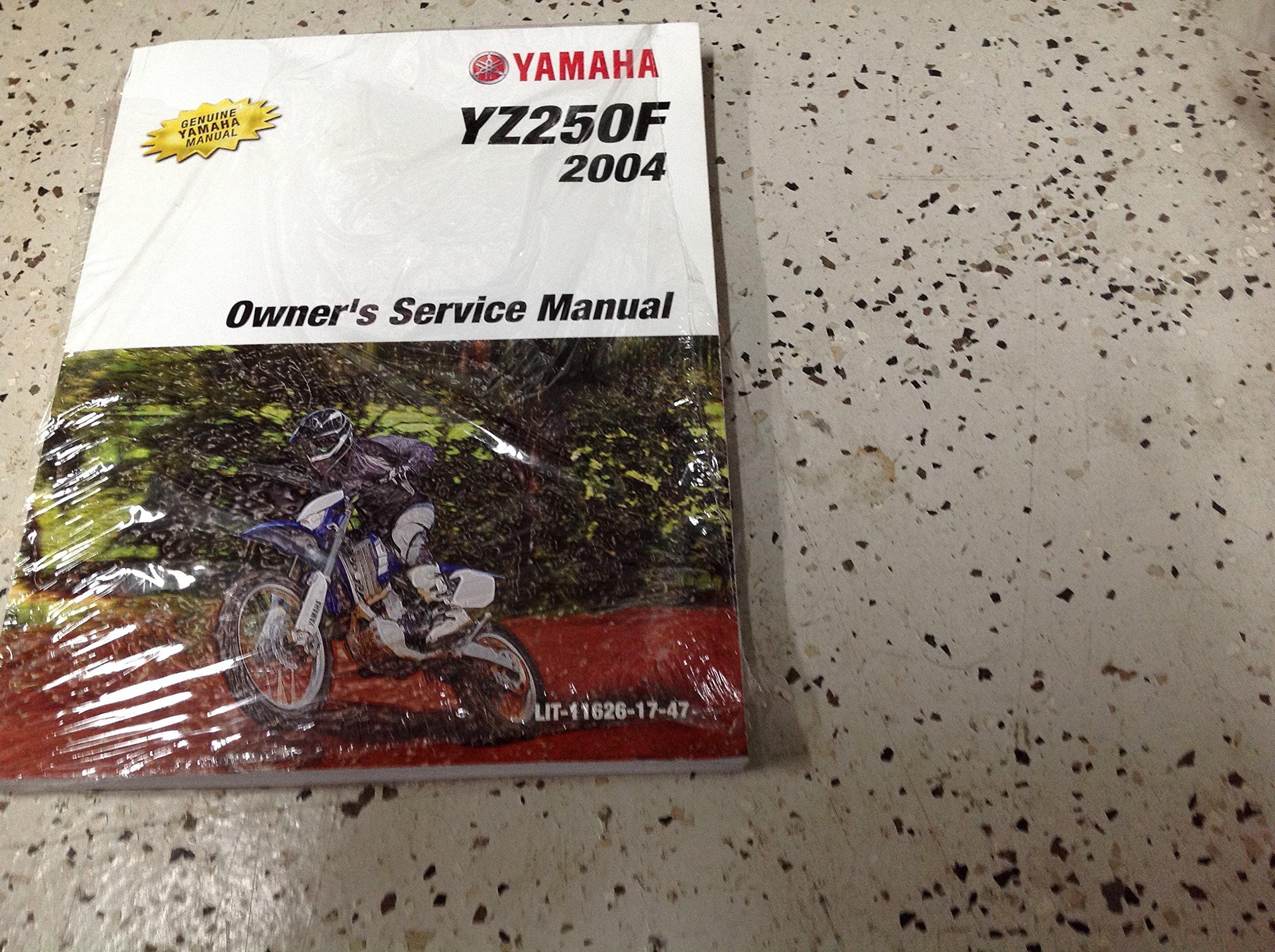 2004 Yamaha YZ250F Owners Service Repair Shop Workshop Manual FACTORY OEM:  YAMAHA INC: Amazon.com: Books