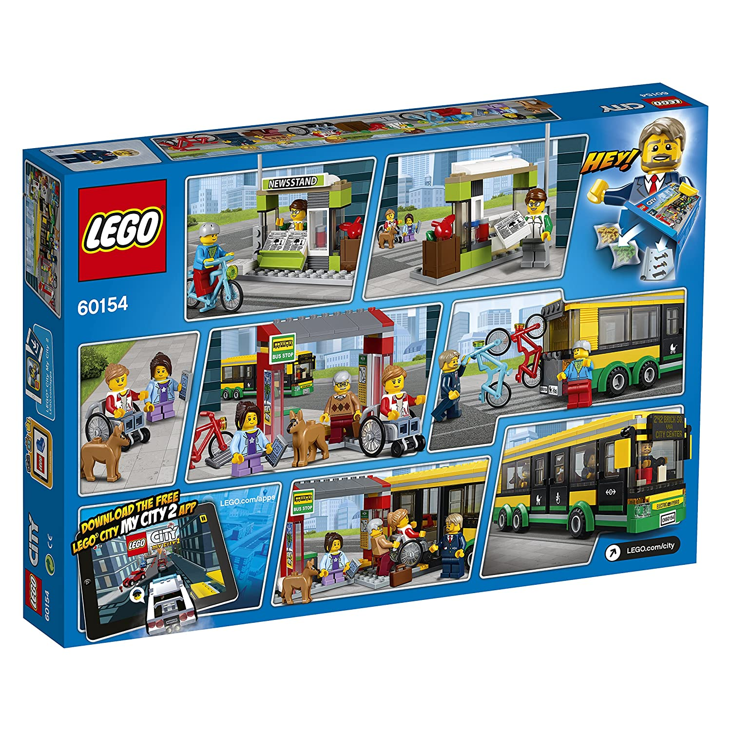 Bus Station 60154 LEGO City Town