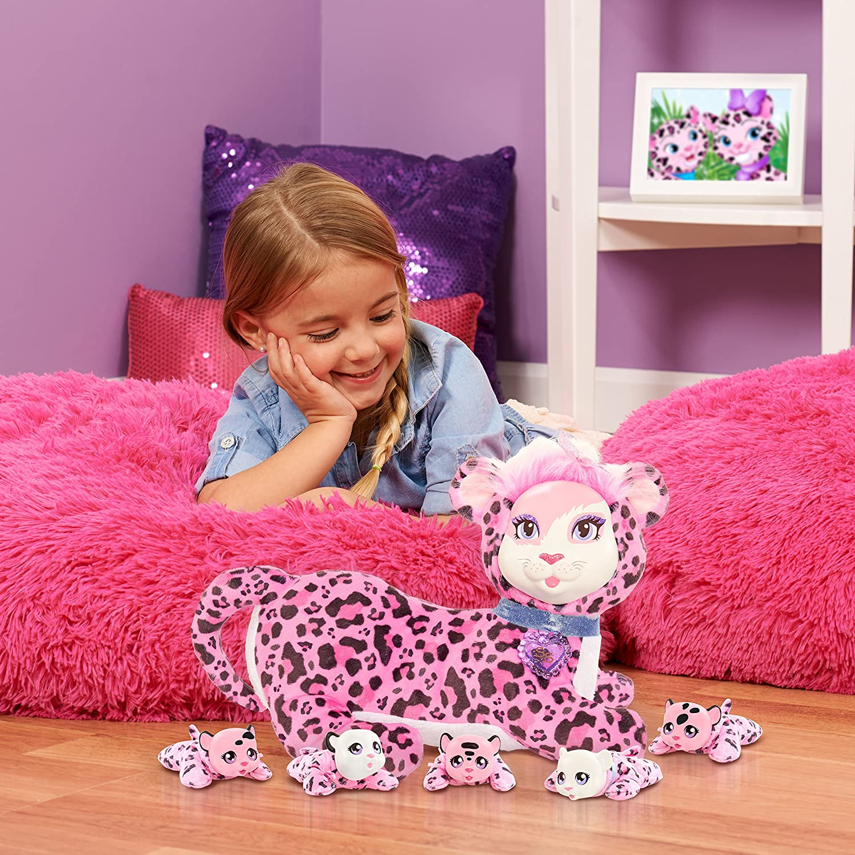 JP Puppy Surprise Peluche de Bianaca del Safari, primera edición de leopardos: Amazon.es: Juguetes y juegos