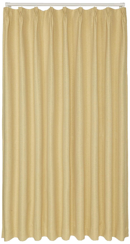 ブリーズ 1級遮光防炎遮熱カーテン 2枚入 巾130cmX丈178cm イエロー B00MHJ2T5Q 130X178|イエロー イエロー 130X178