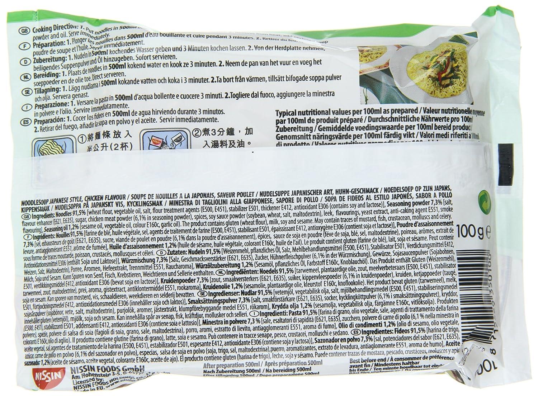 yum yum noodles voedingswaarde