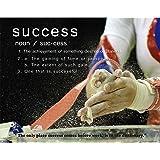 Gymnastics Motivational Poster Art Print Success Balance Beam Mat Lessons School Dance 11x14