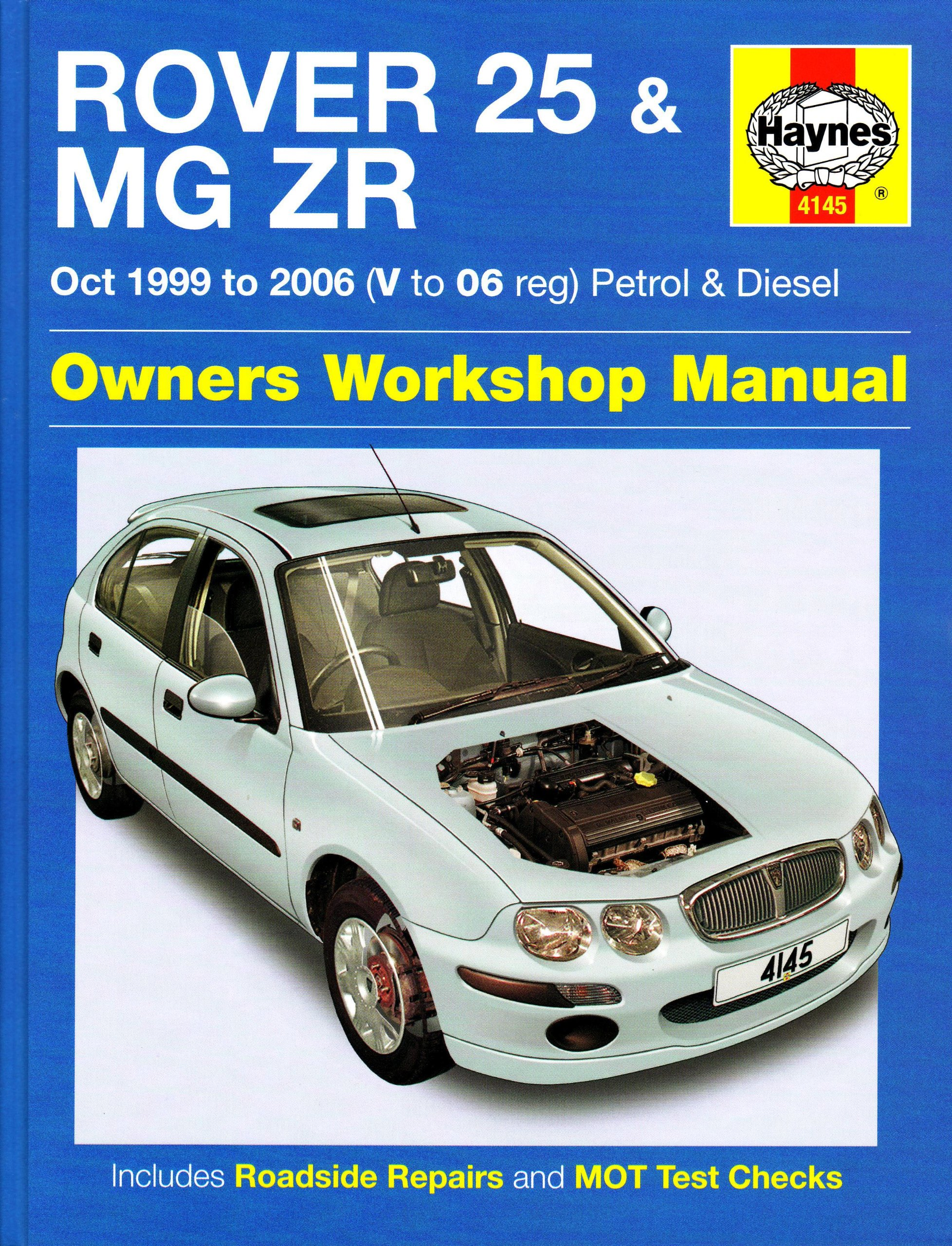 A1G5eyk3utL rover 25 and mg zr petrol and diesel 99 06 (service & repair rover 25 wiring diagram pdf at reclaimingppi.co
