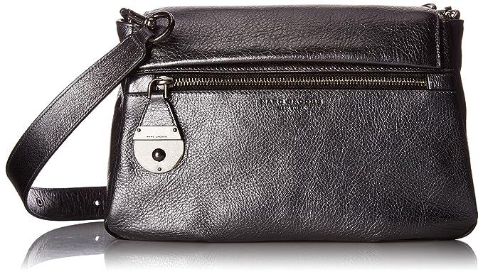 0247fad76e7d5 Amazon.com  Marc Jacobs The Standard Metallic Shoulder Bag ...
