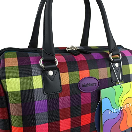 Mesdames Approuvé Cabine pour homme Sac week-end Sac de voyage par Highbury Multibox Multicolore Couleurs mélangées 30,4 cm