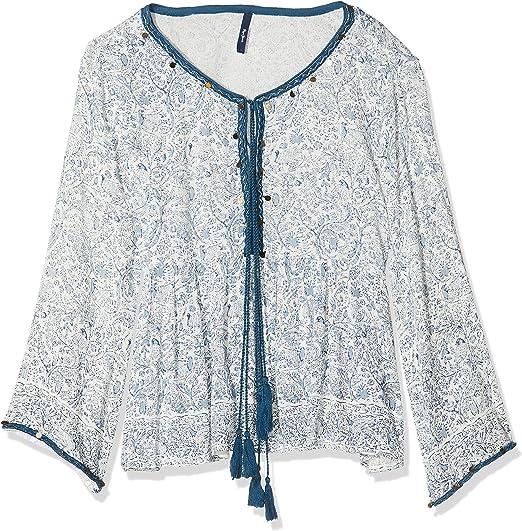 TALLA L. Pepe Jeans Megumi Blusa para Mujer