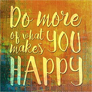 product image for Next Innovations Motivational Wall Art Makes You Happy Wall Decor Panel