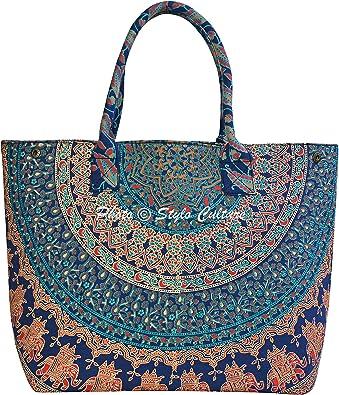 Mandala Tote Bag  Beach bag  Hand bag