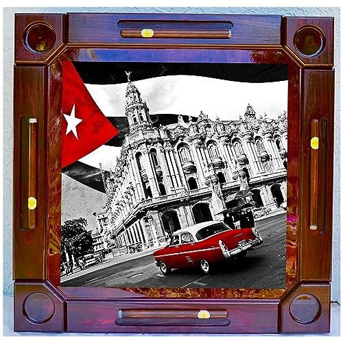 Wooden/wood Dominoes/domino Table/mesa Custom Made Cuba Made