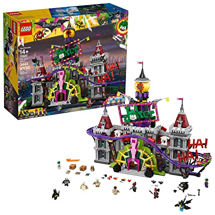 ced233b3f5dd Amazon.com  LEGO BATMAN MOVIE DC The Joker Manor 70922 Building Kit (3444  Piece)  Toys   Games
