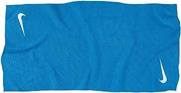 Nike Tour Microfiber Towel Toalla, Unisex Adulto, Azul/Blanco, Talla Única
