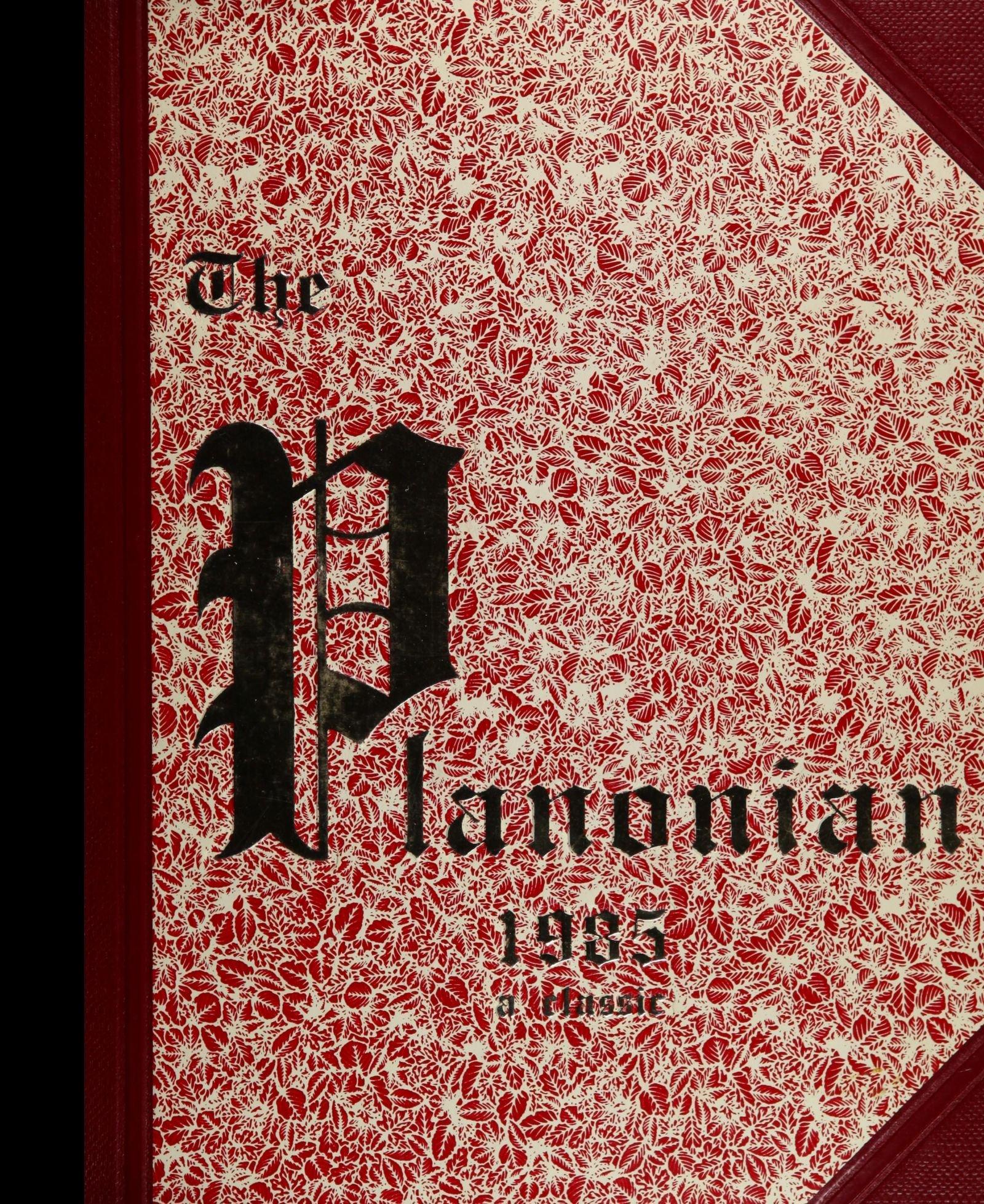 Reprint) 1985 Yearbook: Plano Senior High School, Plano