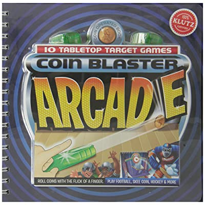 Klutz Coin Blasters Arcade Book: Toys & Games