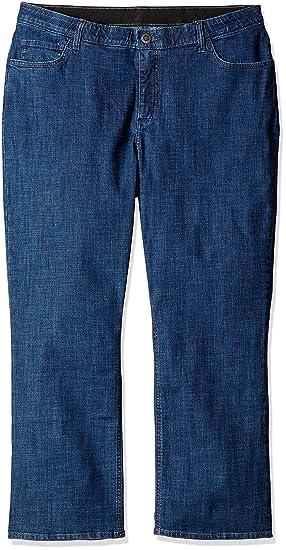 c2b4eb1abff Riders by Lee Indigo Women s Petite-Plus-Size Slender Stretch Slim Straight  Leg Jean