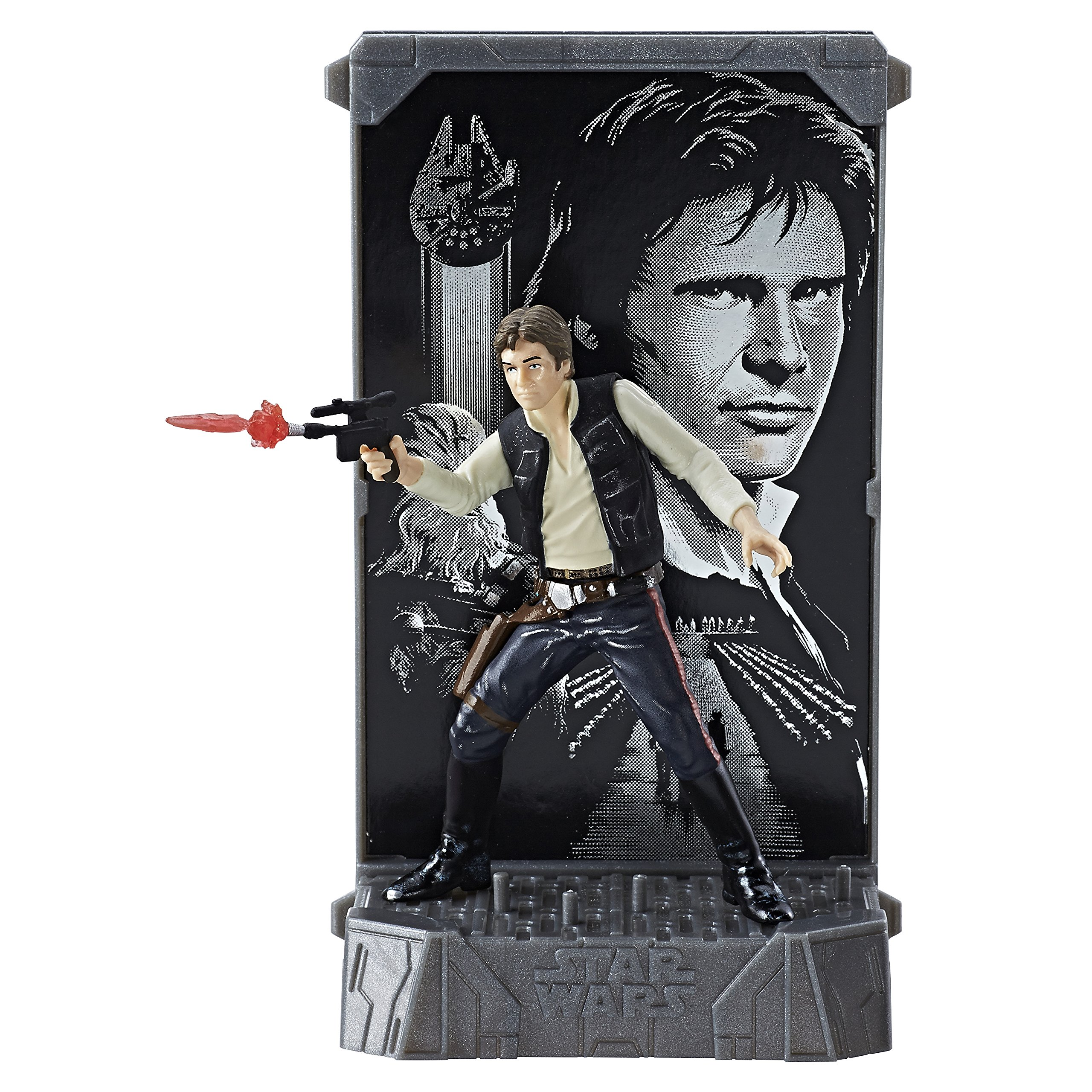 Star Wars Car Seat Covers >> Other Action Figures - Star Wars Black Series Titanium 40th Anniversary Han Solo Action Figure ...