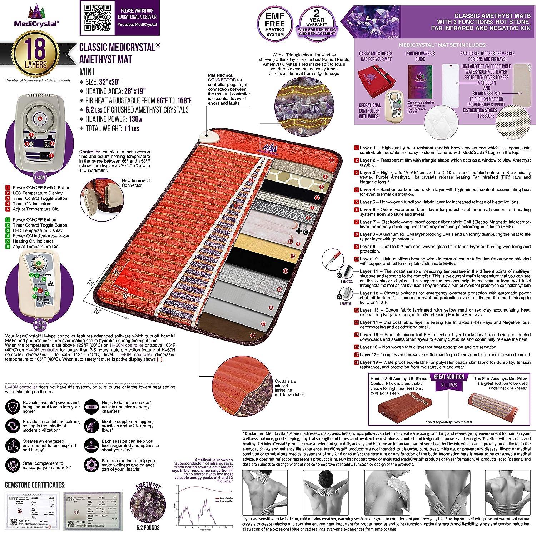 Far Infrared Amethyst Mat Mini (32
