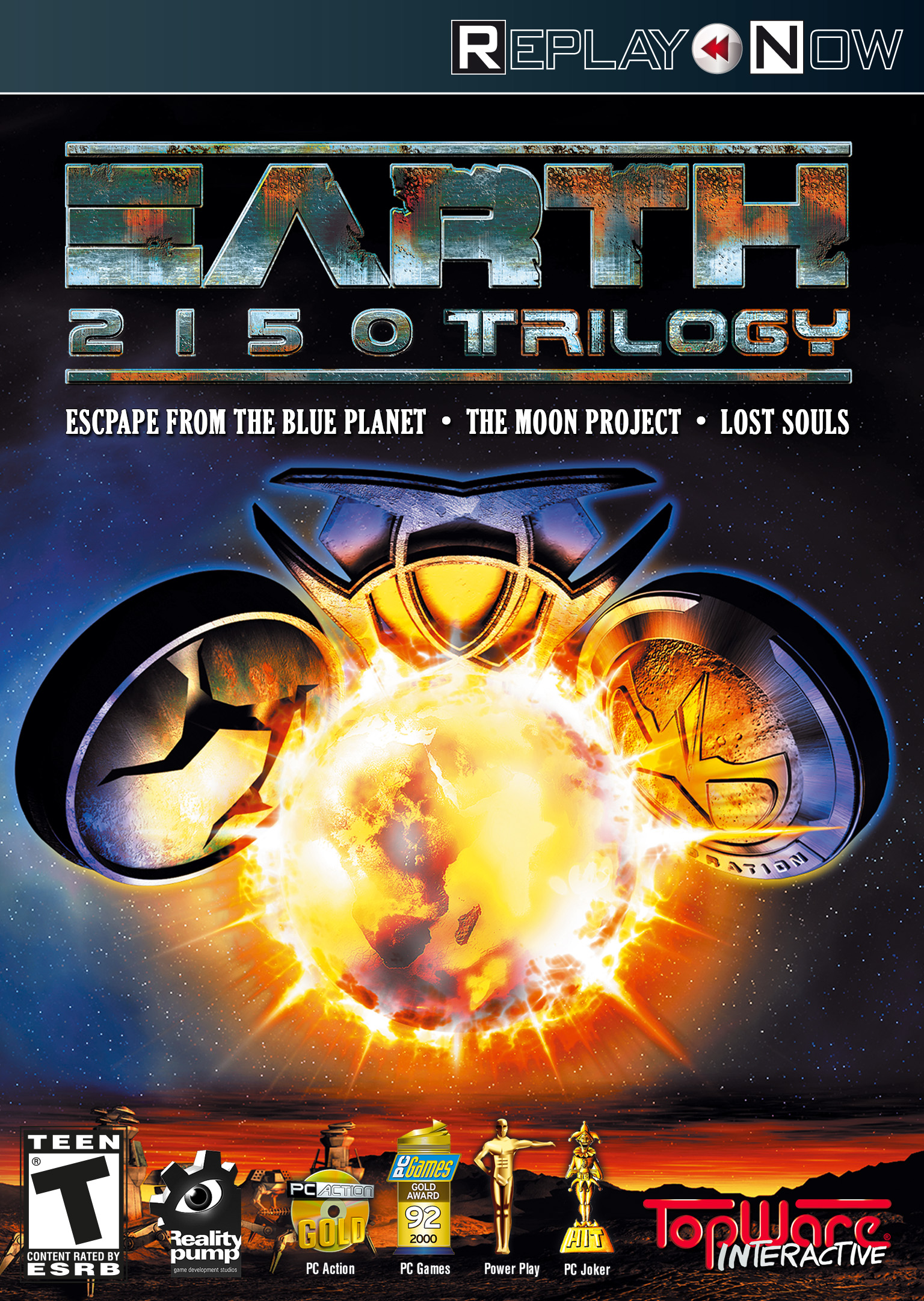 Tiberian Sun Pc Games - EARTH 2150 Trilogy [Download]