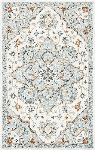Safavieh Heritage Collection HG922A Handmade Traditional Oriental Premium Wool Area Rug