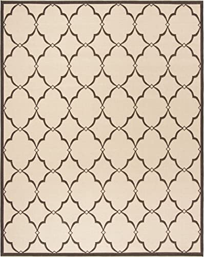 Safavieh Linden Collection Area Rug, 8 x 10 , Cr me Brown