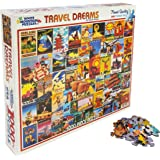 White Mountain Puzzles - Travel Dreams - 1,000 Piece Jigsaw Puzzle