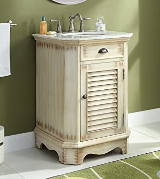 24 Cottage Look Junior Abbeville Bathroom Sink Vanity Model