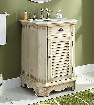 24 Cottage Look Junior Abbeville Bathroom Sink Vanity Model
