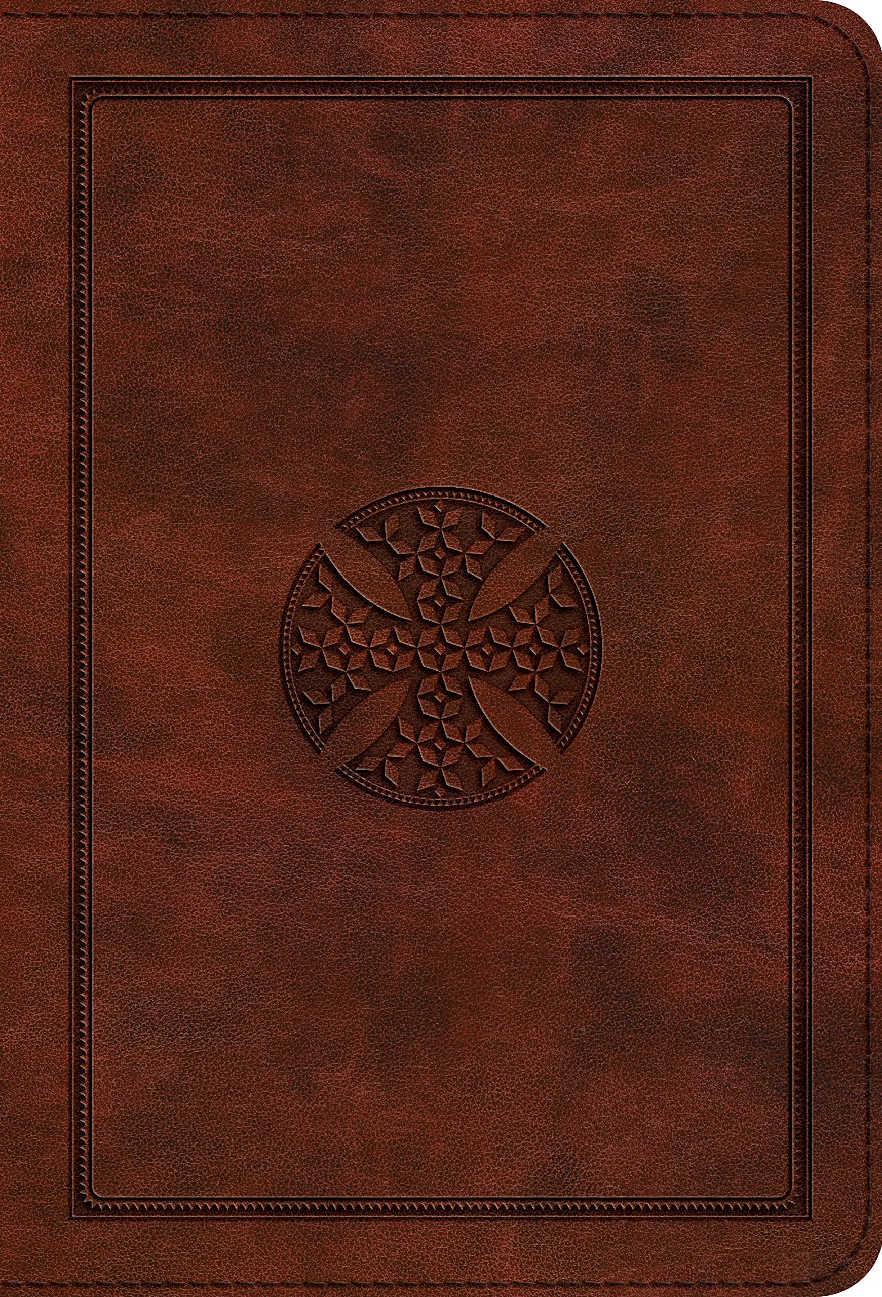 ESV Large Print Compact Bible (TruTone, Brown, Mosaic Cross Design) PDF