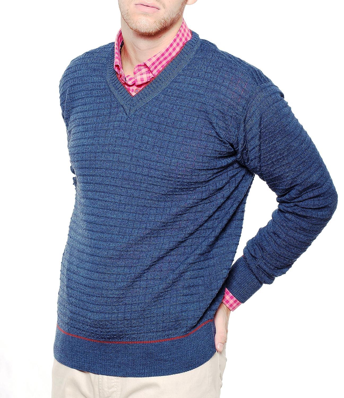 Dipuman Men's Long Sleeve Jumper multicolour multicoloured One size