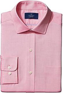 e25a49ae79 Amazon Brand - BUTTONED DOWN Men's Classic Fit Spread-Collar Solid Pinpoint  Non-Iron
