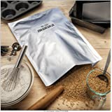 ShieldPro Odor-Proof 5 Mil 1-Gallon Mylar Bags + 300cc Oxygen Absorbers for Long Term Storage of Food, Herb, Organics…